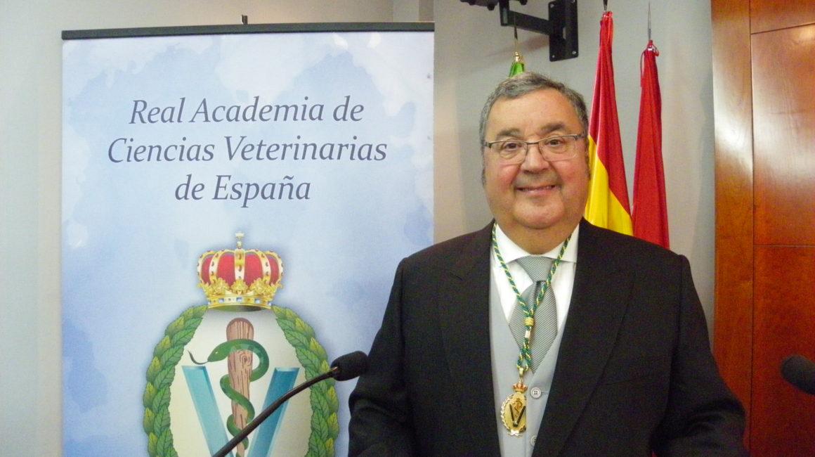 El Excmo. Sr. Dr. D. Antonio Arenas Cano, elegido consejero del Consejo General de Colegios Veterinarios de España