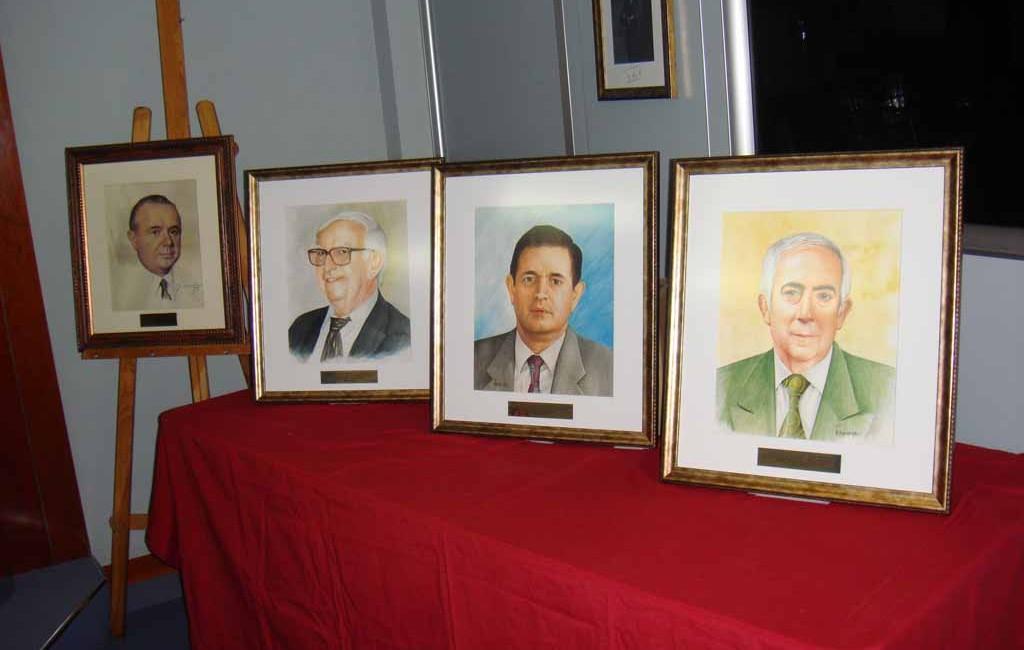 Presentada la Galería pictórica de Presidentes de la RACVE