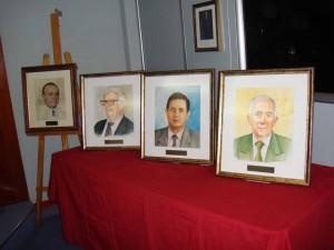 Homenaje Presidentes
