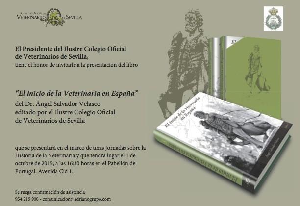 Académicos de la Sección de Historia de la RACVE disertarán en una Jornada sobre Historia de la Veterinaria, en Sevilla