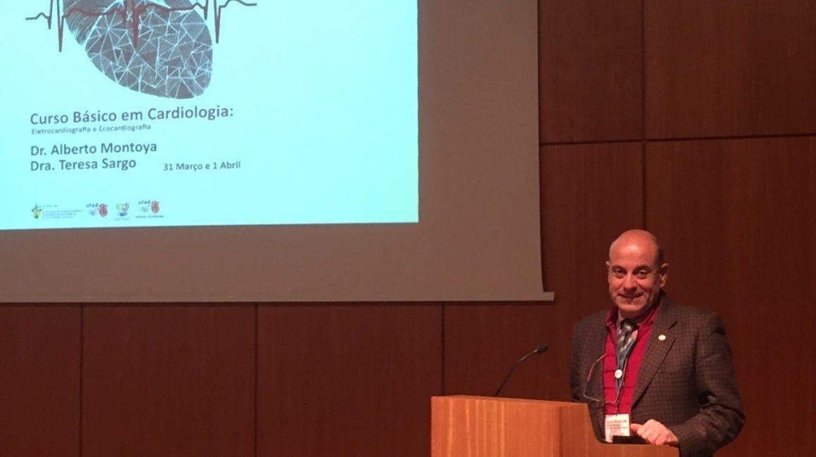 El profesor José Alberto Montoya Alonso, académico de número de la RACVE, invitado por la Universidad portuguesa de Tra-os-Montes e Alto Douro
