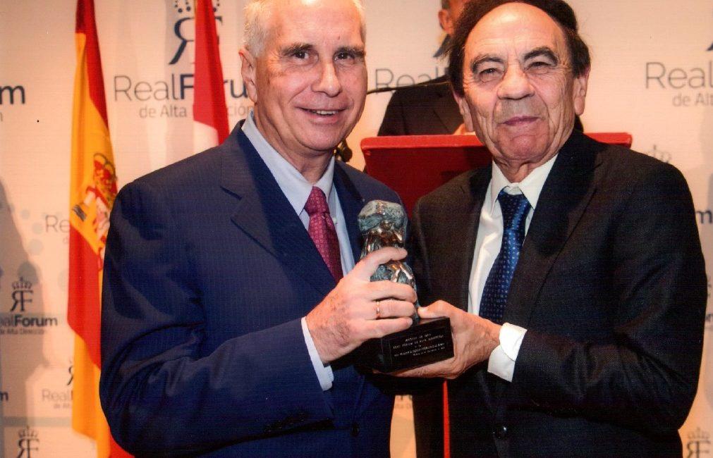 La Real Academia de Ciencias Veterinarias de España distinguida con el Master de Oro del Real Fórum de Alta Dirección
