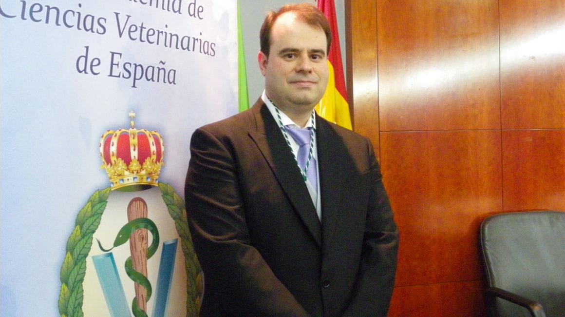 El Dr. Diego Conde Gómez Académico correspondiente de la Real Academia de Ciencias Veterinarias de España