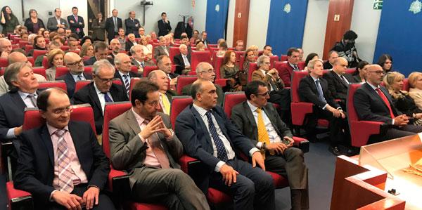 La Real Academia de Ciencias Veterinarias de España asiste a la toma de posesión de la nueva junta de gobierno del Ilmo. Colegio Oficial de Veterinarios de Madrid