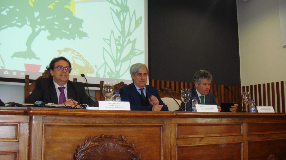 Badajoz acogió la IV Conferencia de Reales Academias y Academias de Ciencias Veterinarias de España