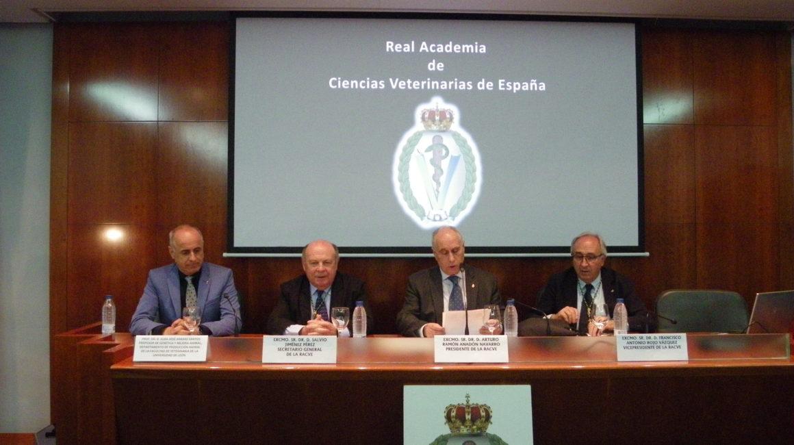 «Impacto de la información genómica en las especies de interés veterinario» El Dr. Juan José Arranz Santos interviene en la Real Academia de Ciencias Veterinarias de España