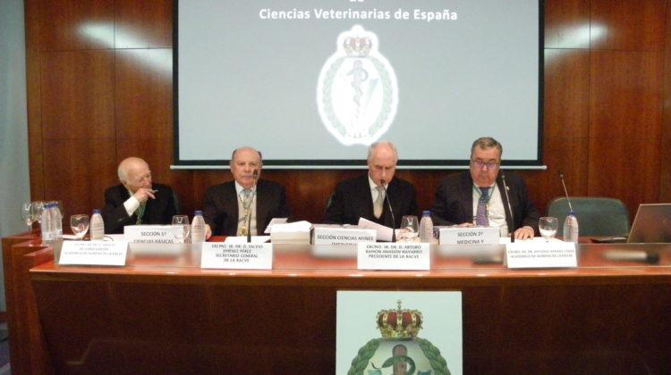 Real Academia de Ciencias Veterinarias de España. Proclamación de nuevos académicos de número electos