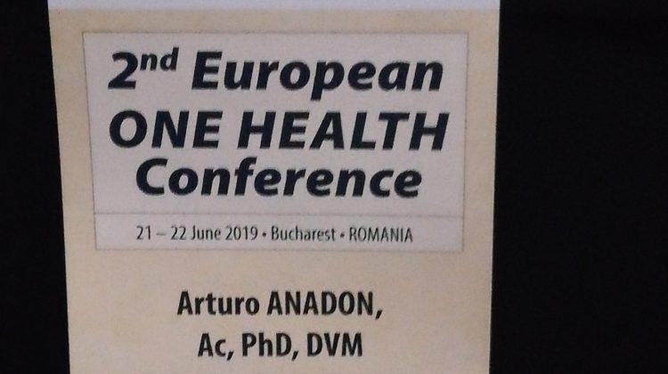 """El Presidente de la Real Academia de Ciencias Veterinarias de España asiste al """"2nd One Health European Conference"""" celebrada en Bucarest (Rumania)"""
