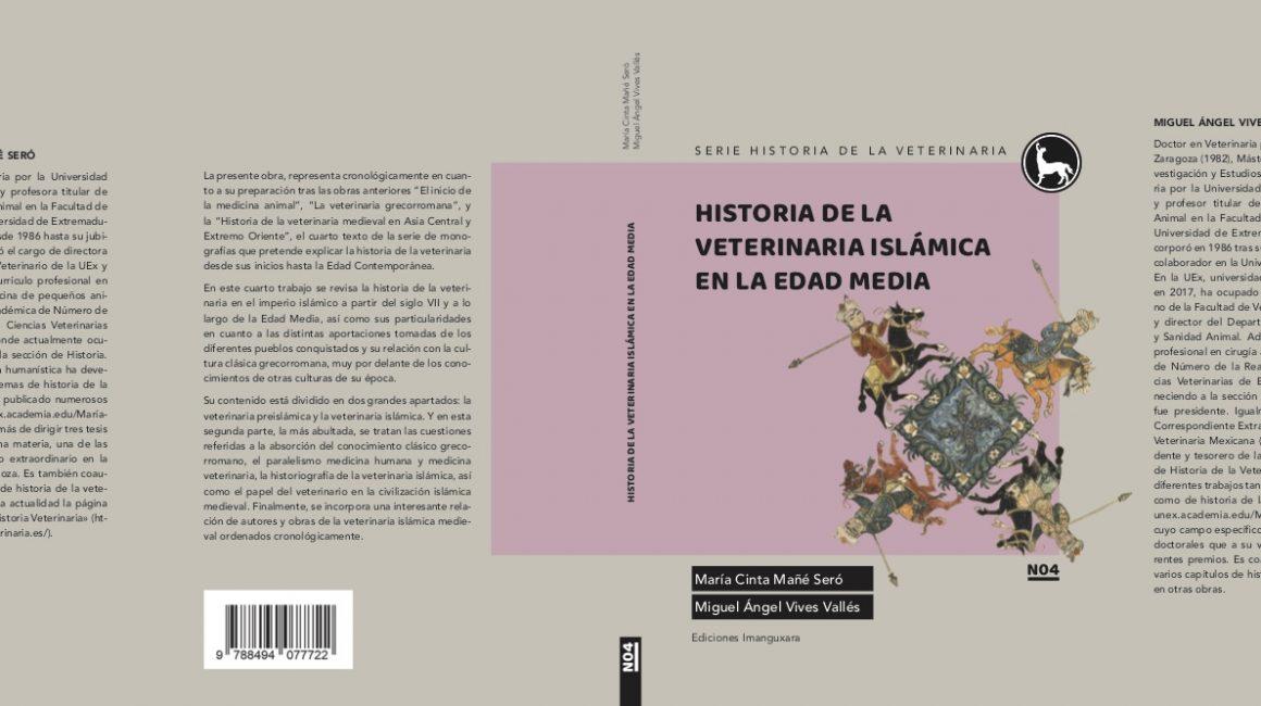 Biblioteca de la Real Academia de Ciencias Veterinarias de España. Novedad editorial: Historia de la Veterinaria Islámica en la Edad Media