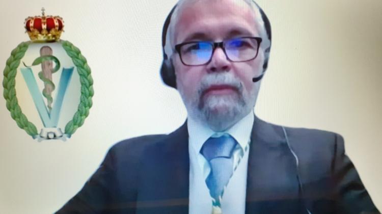 El Excmo. Sr. Dr. D. José Vicente Tarazona Lafarga pronuncia el discurso inaugural del Curso Académico 2021 sobre: «Alimentos seguros y agricultura sostenible. Los retos científicos de la Estrategia Europea»