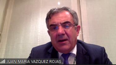 Veterinaria 4.0.  El Dr. Juan María Vázquez Rojas interviene en la sede de la Real Academia de Ciencias Veterinarias de España